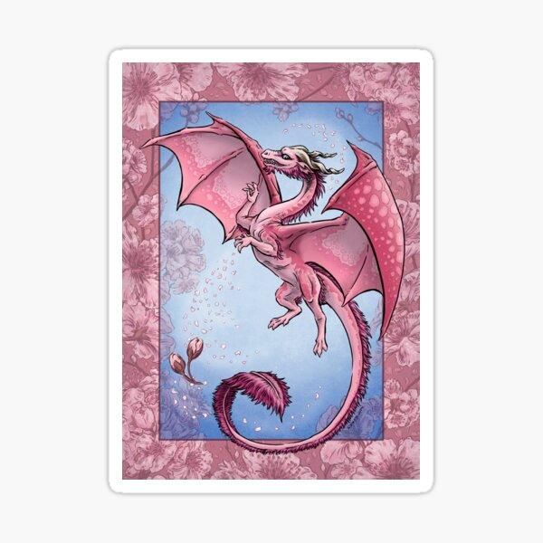The Dragon of Spring Sticker