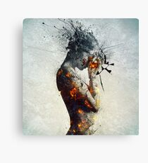 Deliberation Canvas Print
