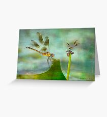 Dragonfly Fantasy Greeting Card