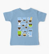 Espresso-Based Drinks Guide Baby Tee