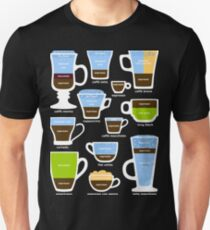 Espresso-Based Drinks Guide T-Shirt