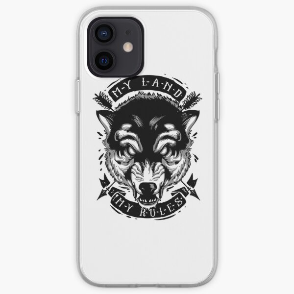 My land my rules iPhone Soft Case