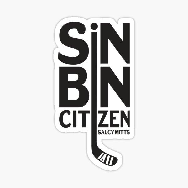 Hockey Sin Bin Citizen Sticker