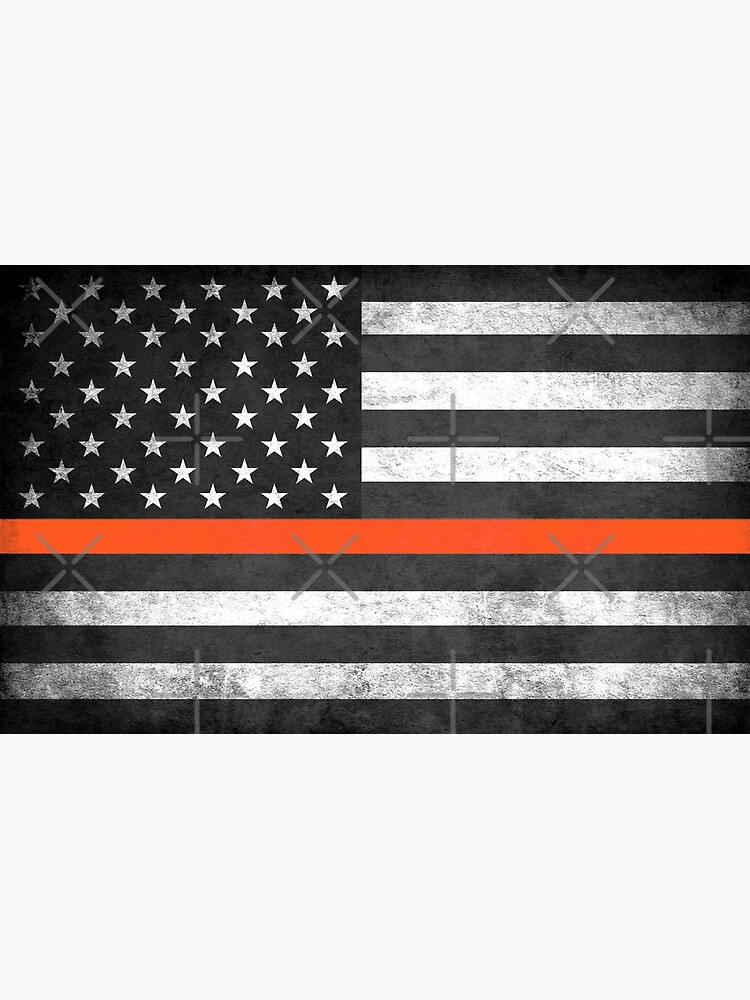 Thin Orange Line by Robjohnsilvers