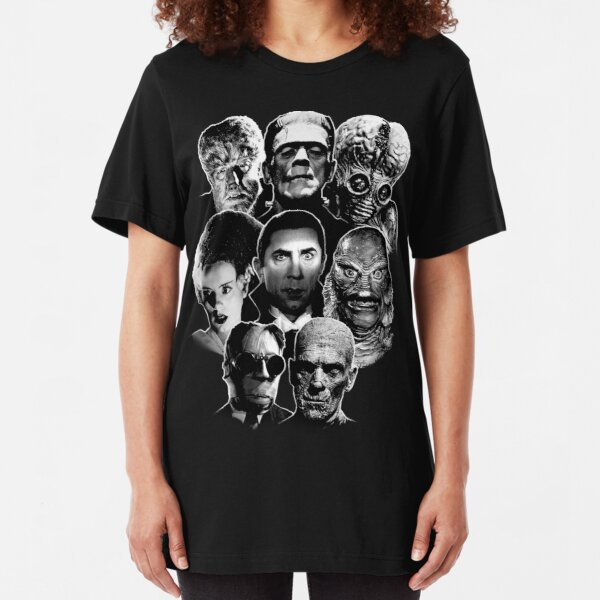 Universal Monster Gang Slim Fit T-Shirt