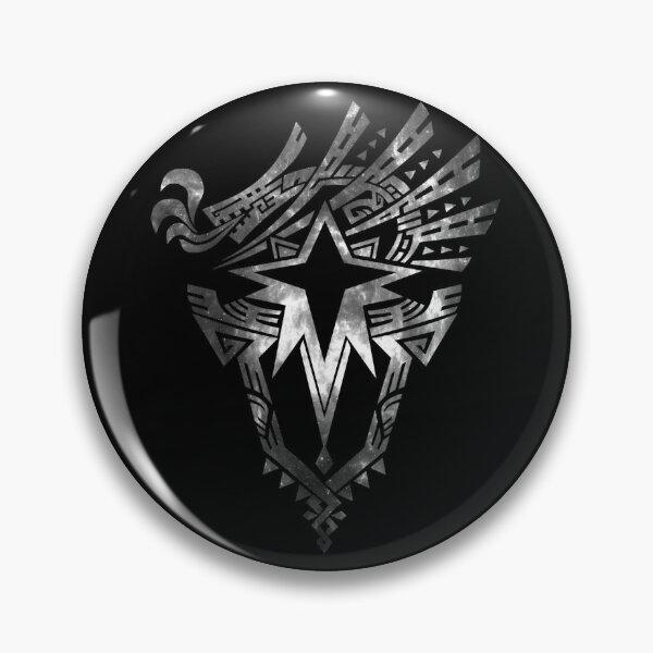 Monster Hunter World: Iceborne - Logo (Chrome Design) Pin
