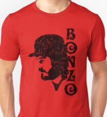 DISTRESSED BLACK BONZO Unisex T-Shirt