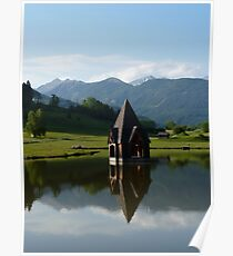 """Church Spire""  Ranten, Austria Poster"
