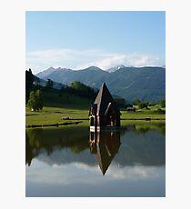 """Church Spire""  Ranten, Austria Photographic Print"