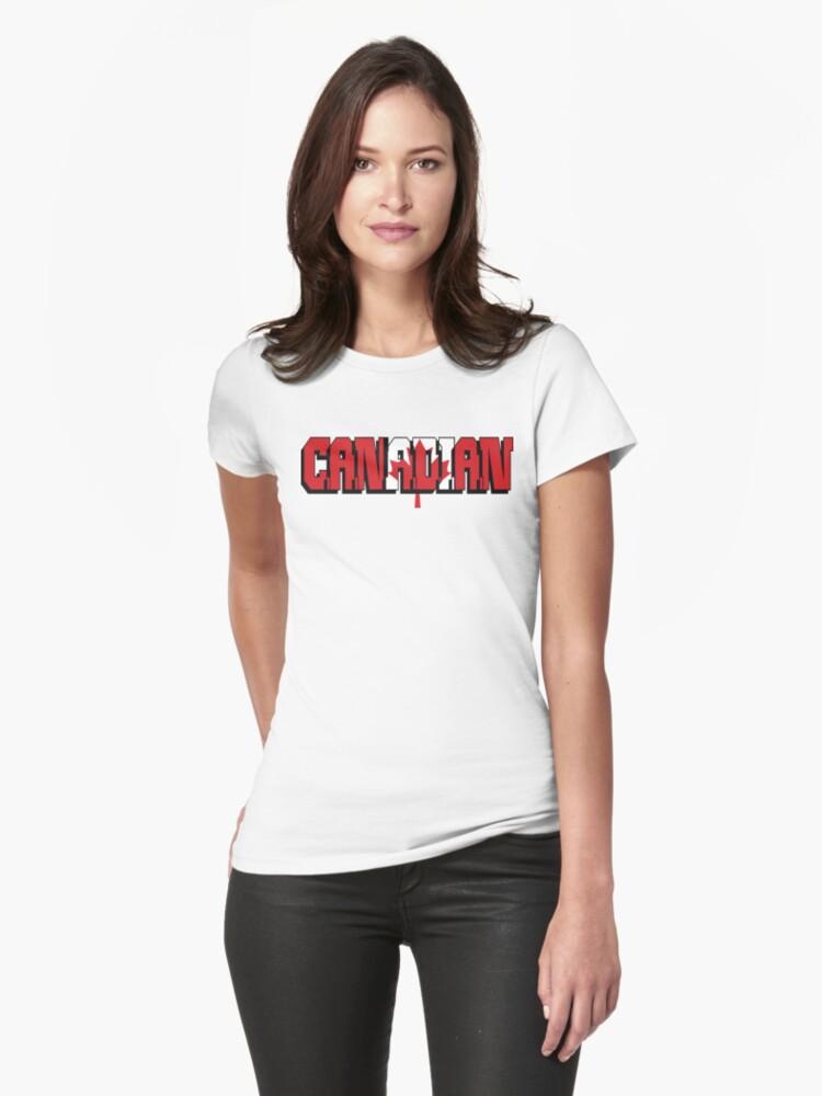 Canadian T-Shirt by HolidayT-Shirts