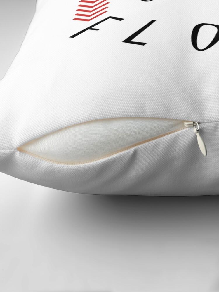 Alternate view of Try to mix salt water flour Throw Pillow