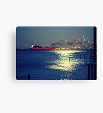 San Francisco Nights... Canvas Print