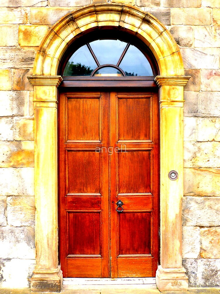 Door at Holyrood Palace ~ Edinburgh by ©The Creative  Minds