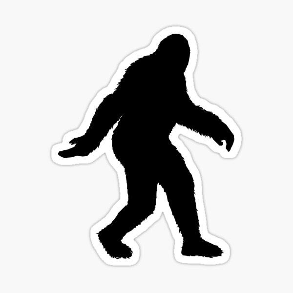 Sasquatch Big Foot Believe Legend Myth Hike stickers Decals