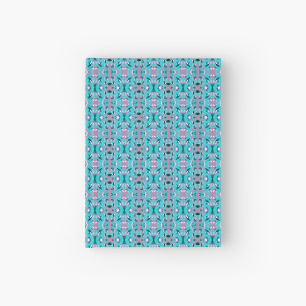 Geometric abstraction mini pattern Hardcover Journal