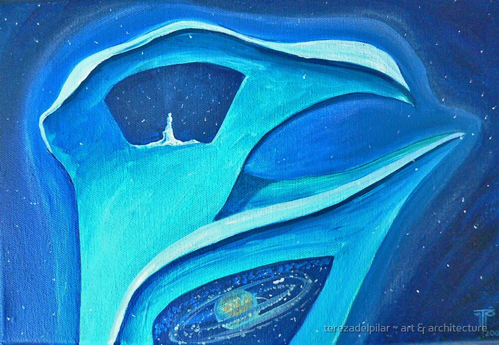 Universe within an Universe by terezadelpilar ~ art & architecture
