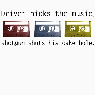 Driver Picks the Music by jadetiger712