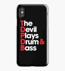 The Devil Plays Drum & Bass iPhone Case
