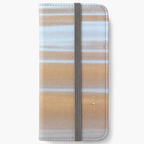 Beach stripes iPhone Wallet