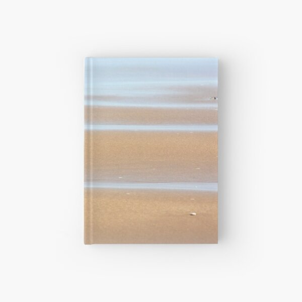 Beach stripes Hardcover Journal