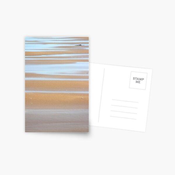 Beach stripes Postcard