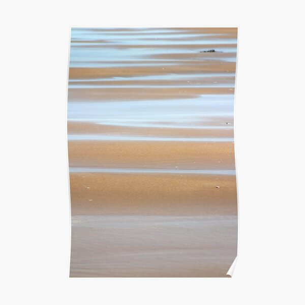 Beach stripes Poster