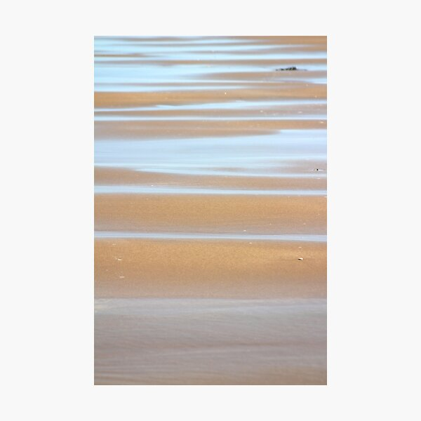 Beach stripes Photographic Print