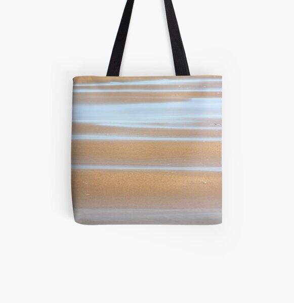 Beach stripes All Over Print Tote Bag