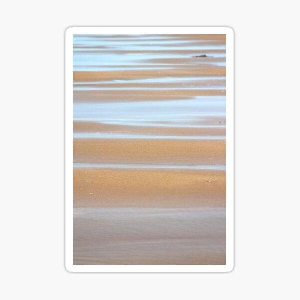 Beach stripes Sticker