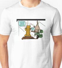 """Comfy Cresties"" Funny Crested Geckos Unisex T-Shirt"