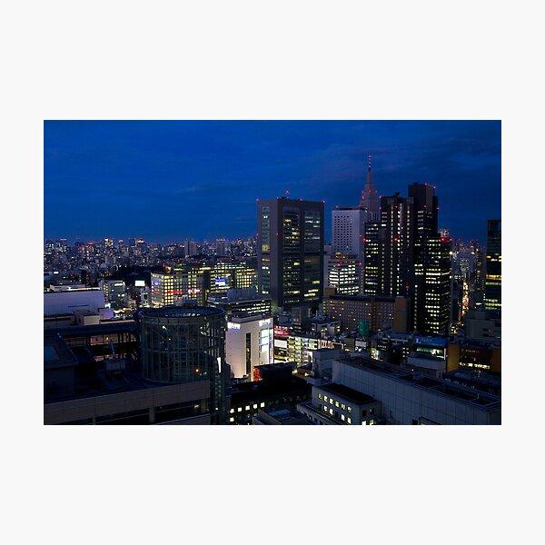 Tokyo at Night Photographic Print