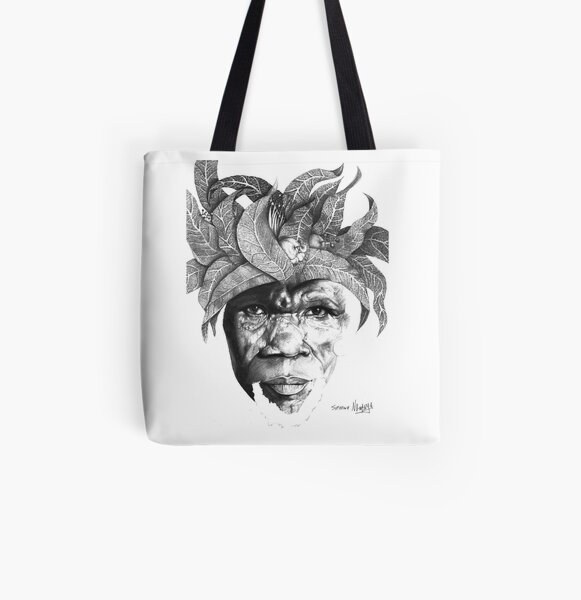 The Original Sunman - By Siphiwe Ngwenya All Over Print Tote Bag
