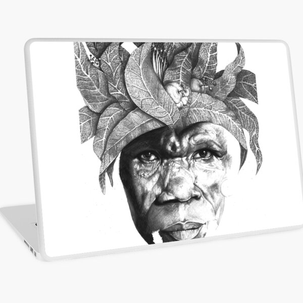 The Original Sunman - By Siphiwe Ngwenya Laptop Skin