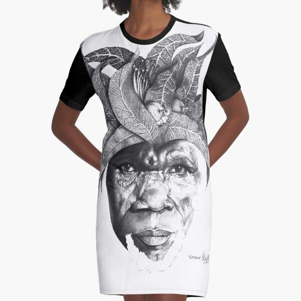 The Original Sunman - By Siphiwe Ngwenya Graphic T-Shirt Dress