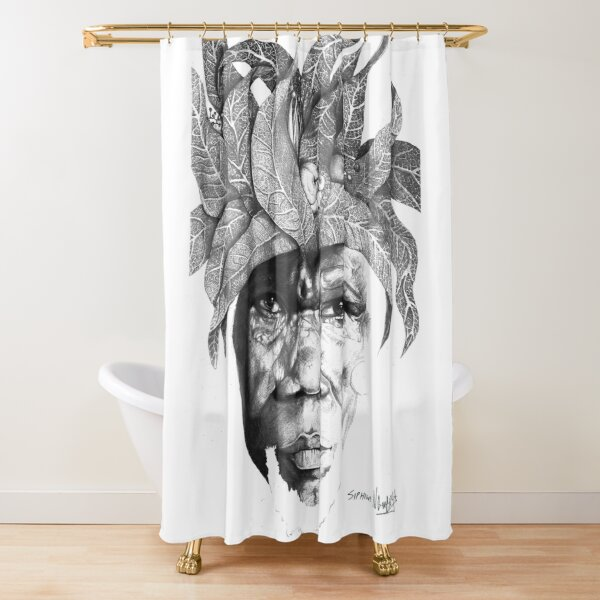 The Original Sunman - By Siphiwe Ngwenya Shower Curtain