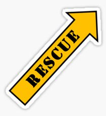 FIGHTER RESCUE Sticker