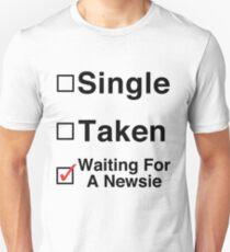 Waiting for a Newsie T-Shirt