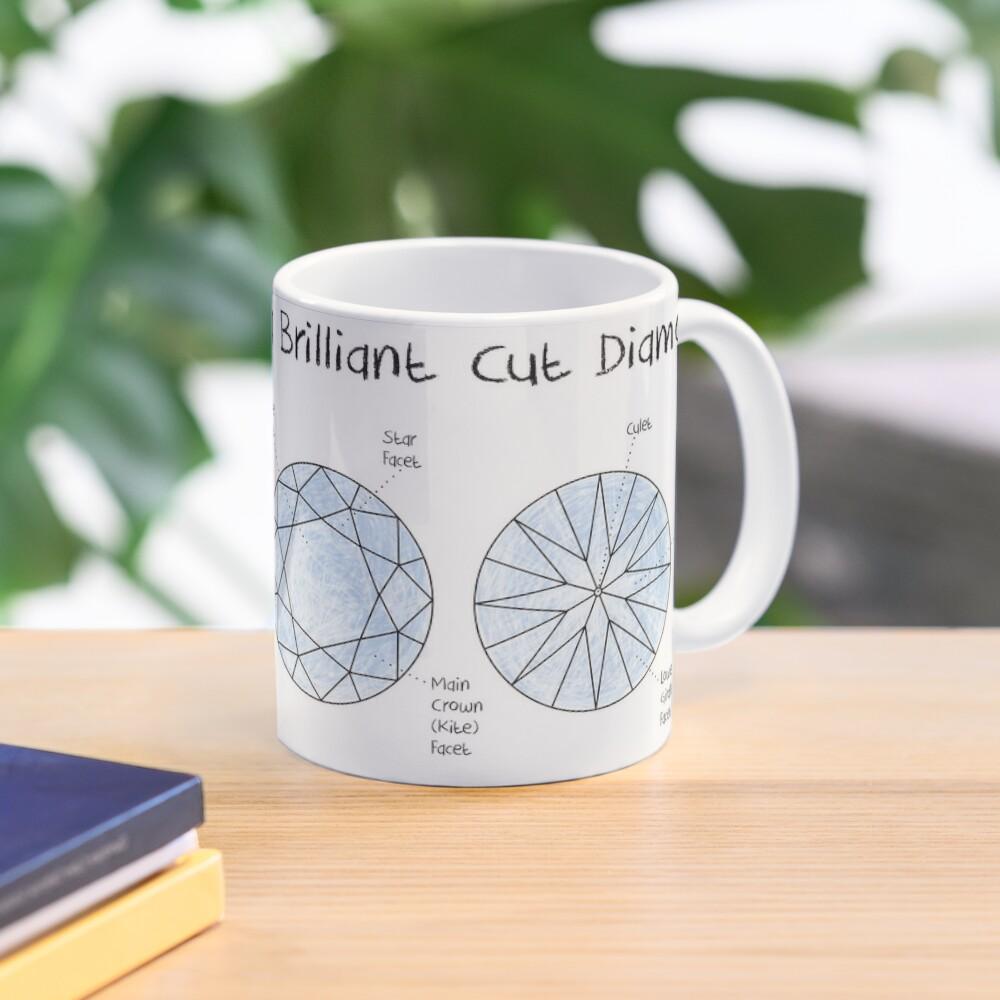 Brilliant Cut Diamond Mug