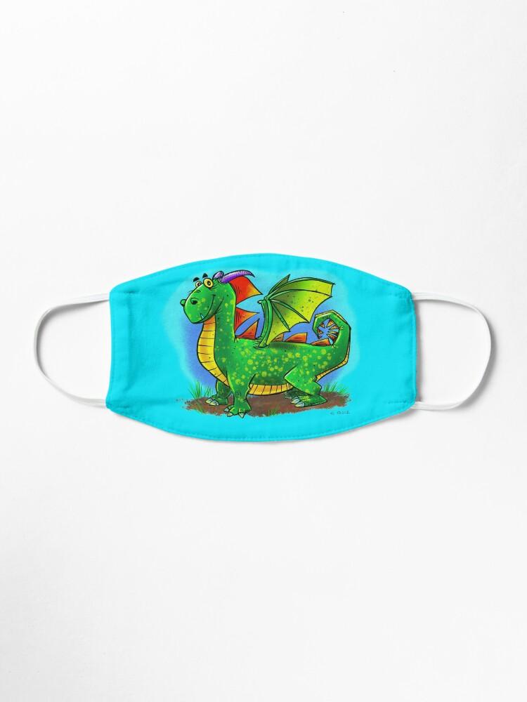 Alternate view of Friendly Dragon Mask