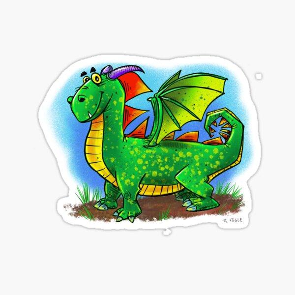 Friendly Dragon Sticker