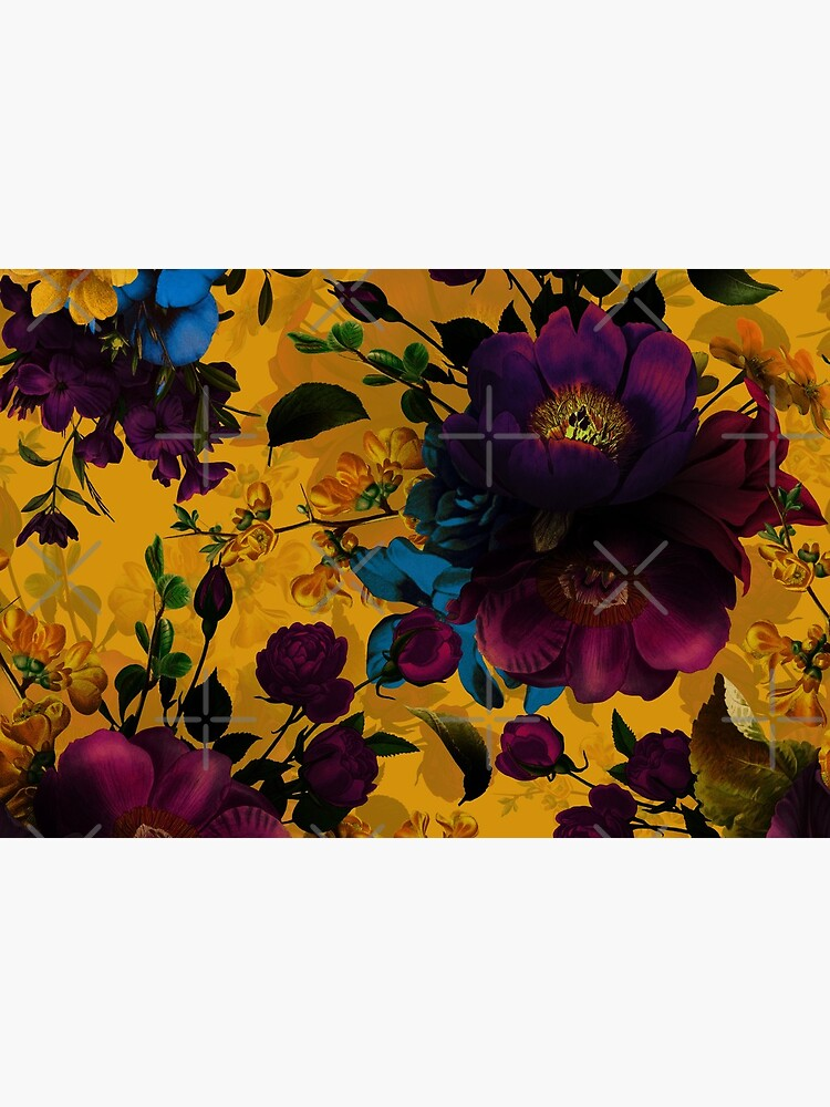 Moody florals - Mystic Night 8  by UtArt