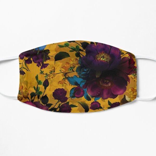 Moody florals - Mystic Night 8  Flat Mask
