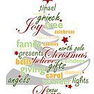 Christmas wordplay by shouho