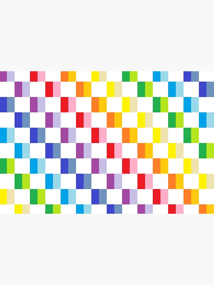 Checkered Broader Spectrum Rainbow by lornakay