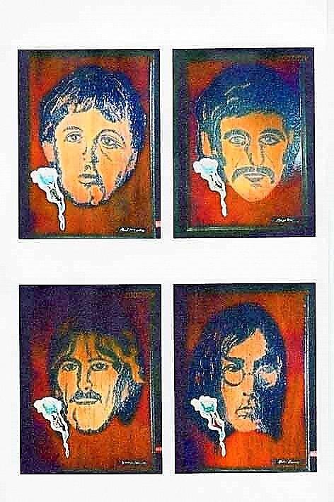 The Fab Four by Strangeliteart