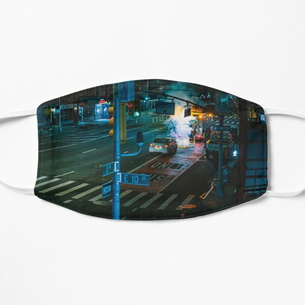 1st Ave and East 10th Street– during Covid-19 Mask