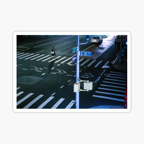 !st Ave and 10th Steet – during Covid-19 Sticker