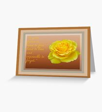A Good Friend Is Hard To Find and Hard To Lose Greeting Card
