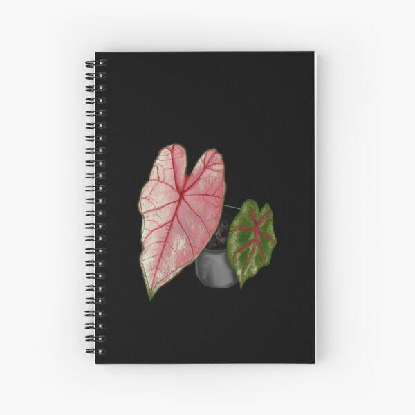 Pink Caladium  Spiral Notebook