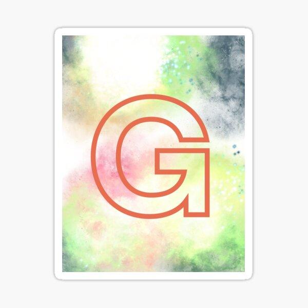 Initial G Sticker
